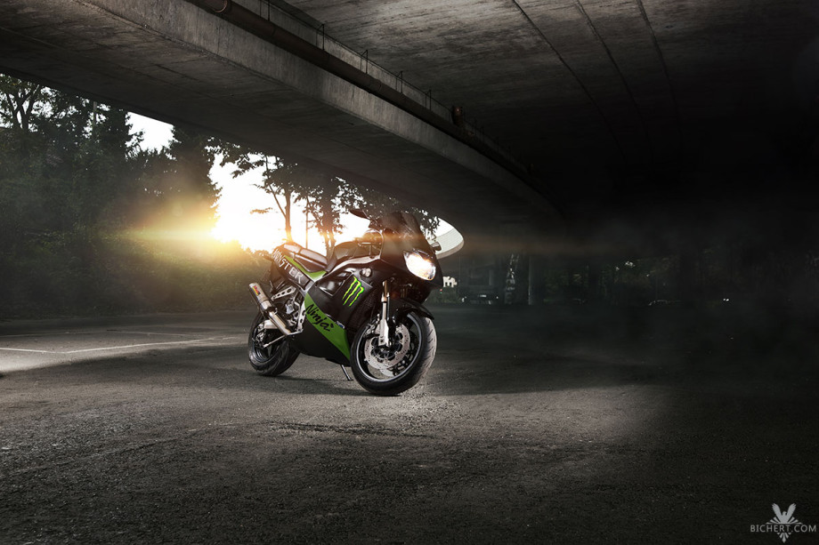 Motorrad Photoshooting in Frankfurt