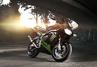 Motorradshooting mit der Kawa Ninja in Frankfurt