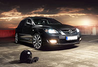 Automotive Photography in Frankfurt . Mazda MPS