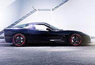 Autophotografphie Porschekiller Corvette C6