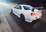 Nissan Skyline R34 Automobilfotografie Frankfurt