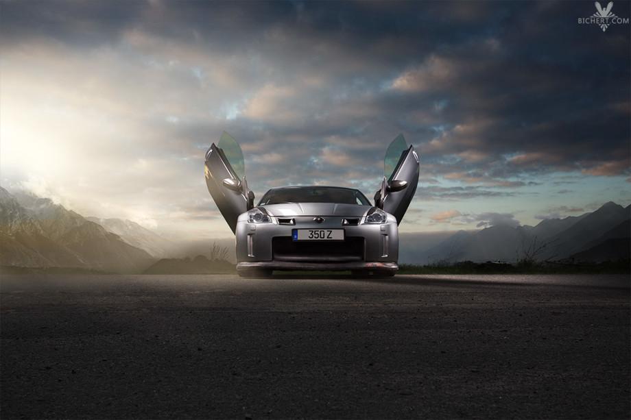 Flügeltüren beim Nissan 350Z Tuning Umbau