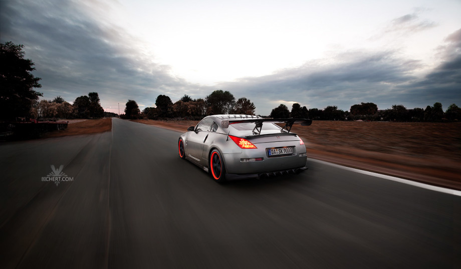Fahrtbilder Nissan 350Z