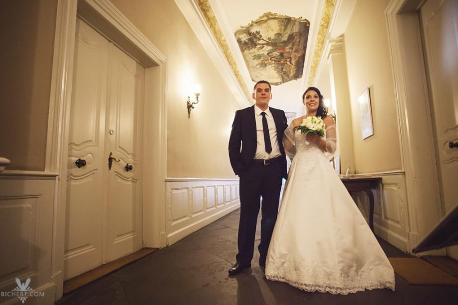 Bilder vom Brautpaar vor der Trauung