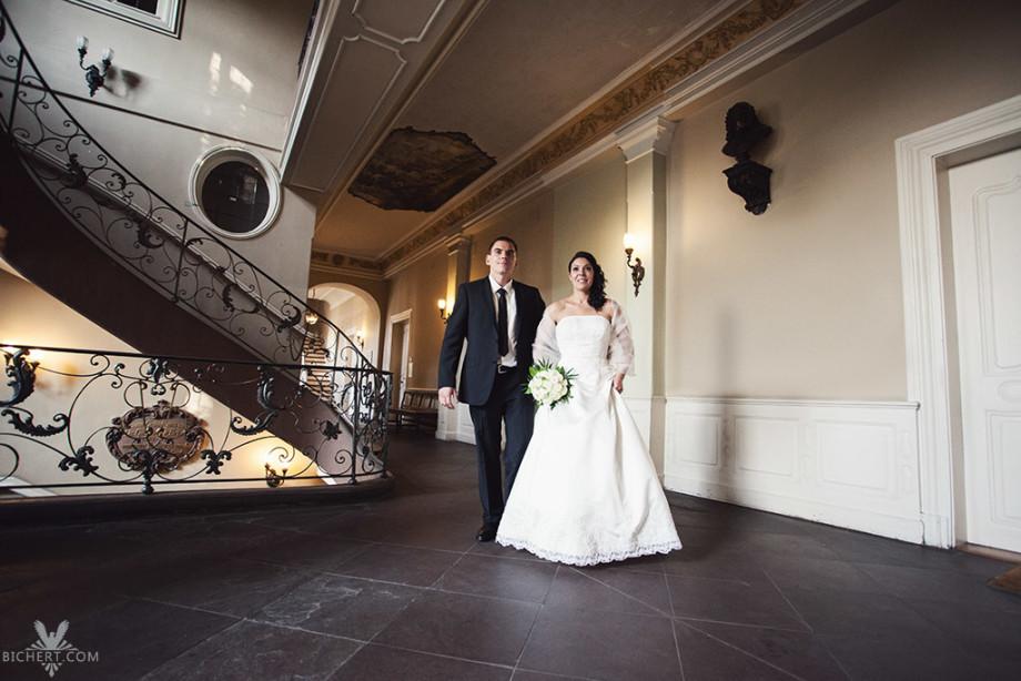 Hochzeitsbilder im Bolongaro Palast Frankfurt am Main