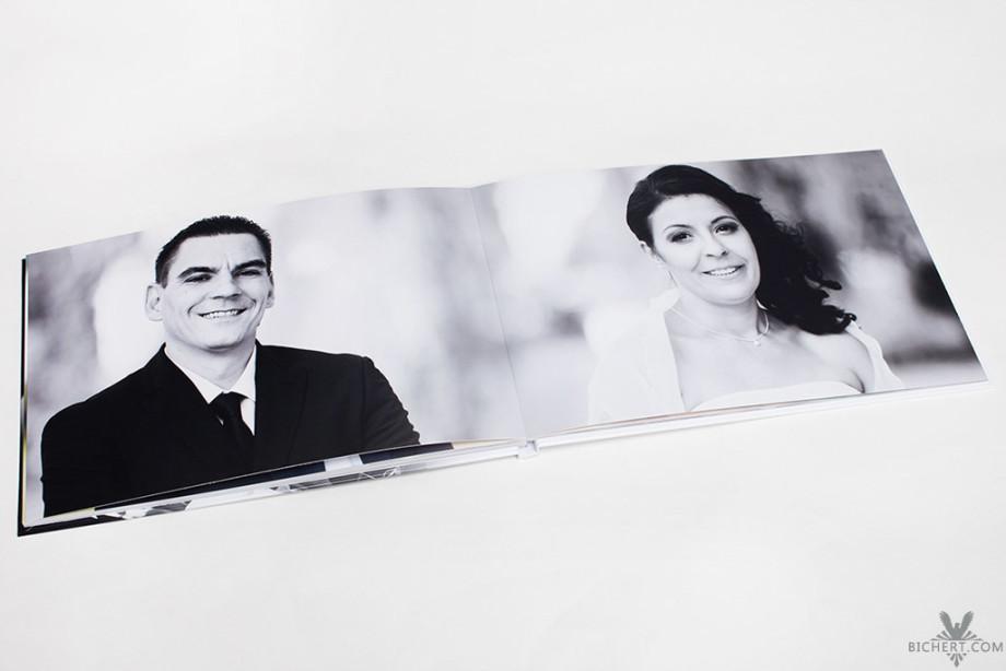 Portraits vom Brautpaar für das Fotobuch