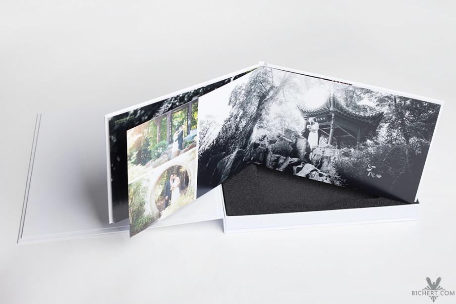Hochzeitsalbum im Paket mit dem Hochzeitsfotografen