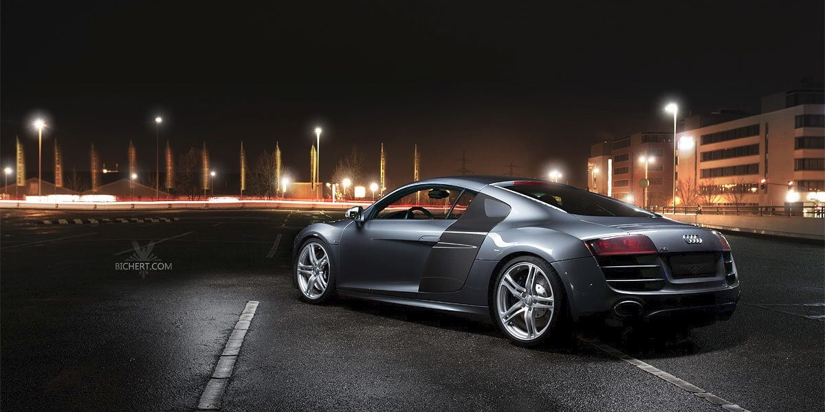 Automotive Fotografie Audi R8 V10 FSI