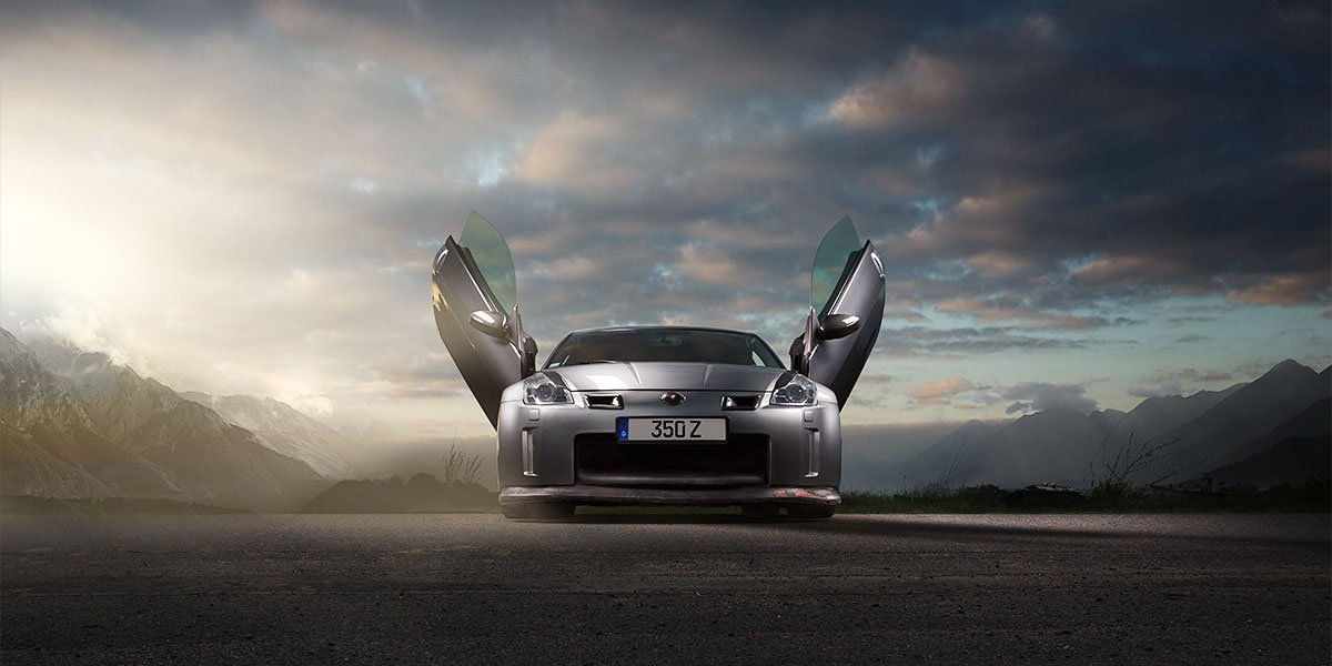 Automotive Photography Nissan 350Z