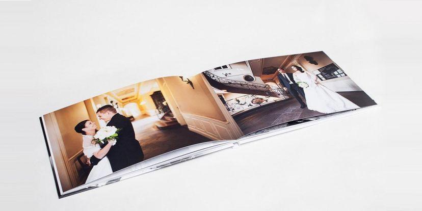 individuelles Layout für das Hochzeitsfotobuch