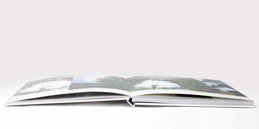 Layflatbindung bei Fotobüchern Hochzeitsfotobüchern
