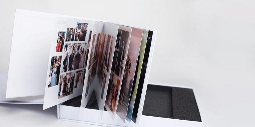 hochwertiges Papier für das Hochzeitsfotobuch